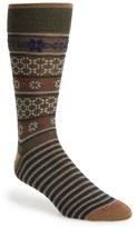 Lorenzo Uomo Fair Isle Socks (3 for $30)