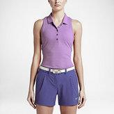 Nike Precision Jacquard Racerback Women's Golf Polo