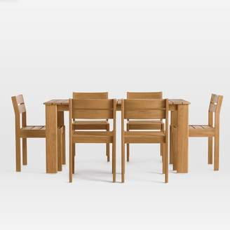 west elm Playa Outdoor Dining Table + Chairs Set