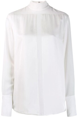 Victoria Victoria Beckham Sheer Panel Shirt