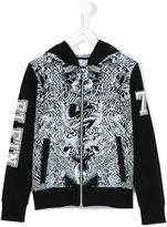 Philipp Plein Junior printed hoodie