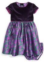Oscar de la Renta Infant Girl's 'Brushstroke Fleur' Mikado Party Dress