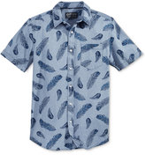 American Rag Men's Feather Shirt, Only at Macy's