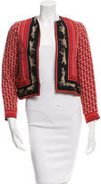 Roseanna Silk Printed Jacket w/ Tags