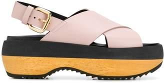 Marni colour-block sandals