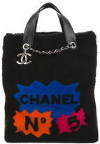 Chanel Large Shearling Tote