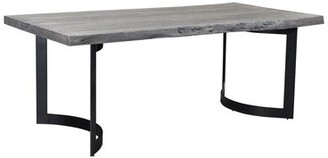 """Moe's Home Collection Bent 40'' Iron Dining Table Size: 29.5"""" H x 78"""" L x 40"""" W"""