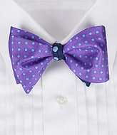 Daniel Cremieux Two-Dot Silk Bow Tie