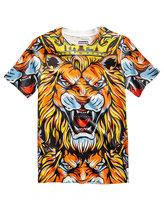 Sean John Lion-Print T-Shirt, Big Boys (8-20)