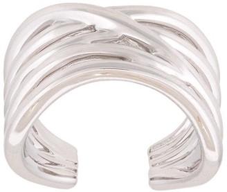 Zoya 18kt white gold 'Zoya' pinkie ring
