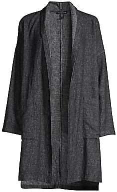 Eileen Fisher Women's Hemp & Cotton Kimono Coat
