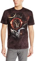 The Mountain Men's Cosmic Wolves Adult T-Shirt