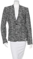 Damir Doma Structured Abstract Pattern Blazer