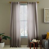 west elm Luxe Curtain - Zinc