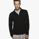 James Perse Cashmere Half-Zip Sweater