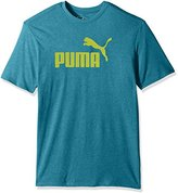 Puma Men's No 1 Logo Perferated Graphic T-Shirt