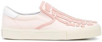 Amiri Skeleton slip-on sneakers