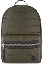Moncler Green Contrast George Padded Backpack