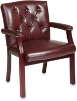 Bed Bath & Beyond Traditional Visitors Chair with Padded Arms