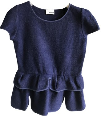 Rodier Navy Wool Top for Women