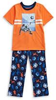 Petit Lem Two-Piece Soccer Pajama Set