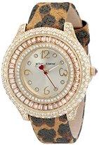 Betsey Johnson Women's BJ00432-08 Gold Watch