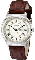 Timex Classic Brown Leather Strap