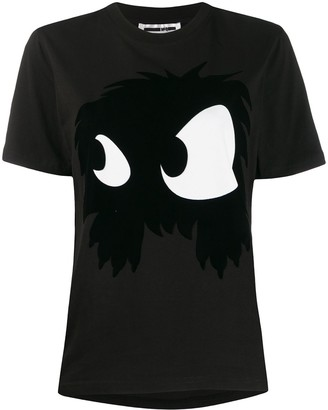 McQ Chester Monster-print cotton T-shirt