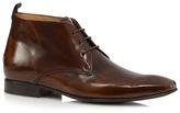 Jeff Banks Tan Leather Chukka Boots