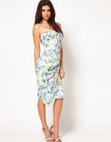 ASOS Pencil Dress in Floral Print