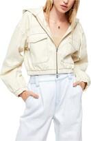 Urban Outfitters Bdg Patch Pocket Crop Denim Jacket