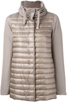 Herno padded front jacket - women - Cotton/Feather Down/Polyamide/Acetate - 46