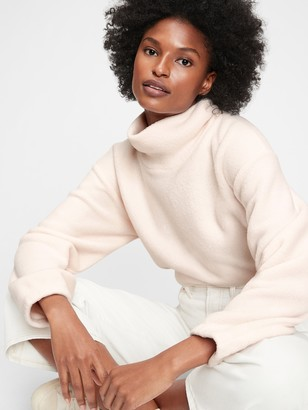 Gap Fleece Turtleneck Sweatshirt