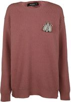 Rochas Rhinestone Sweater