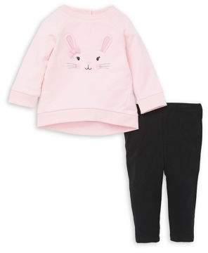 Little Me Baby Girl's 2-Piece Sweatshirt & Leggings Set