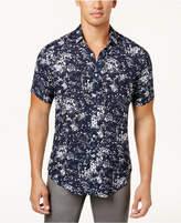 INC International Concepts I.n.c. Men's Splatter-Print Shirt, Created for Macy's
