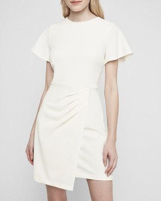 Express Wrap Skirt Sheath Dress