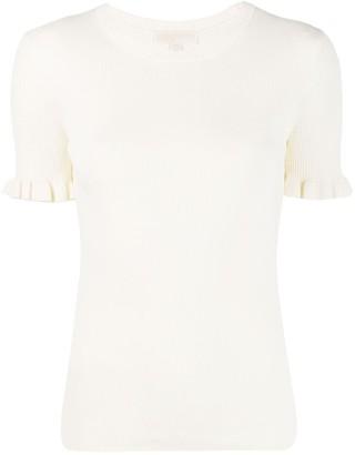MICHAEL Michael Kors ruffle-sleeve knit top