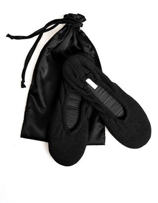 Velvet by Graham & Spencer Cashmere Ballet Flat Slippers By Skin
