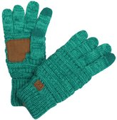 By Summer BYSUMMER C.C Smart Touch Tip Cold Weather Best Winter Gloves (Teal/blue)
