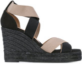 Castaner strappy wedge espadrilles - women - Leather/Canvas/rubber - 37