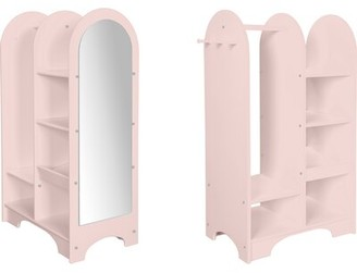 Harriet Bee Todmorden Armoire Color: Soft Pink