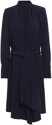 BA&SH Valerie Tie-front Crepe Dress
