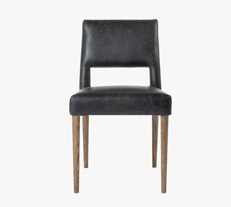 Pottery Barn Keva Leather Dining Chair