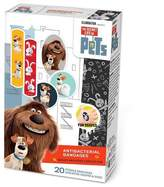 Universal Studios The Secret Life of Pets Antibacterial Bandages - 20 Count