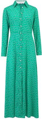 Libelula Maxi Lucinda Dress Green Hiawatha Print