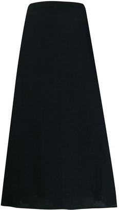 Jil Sander A-line flared midi skirt
