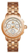 Tory Burch Tory Watch, Rose Gold-Tone/Ivory Chronograph, 37mm