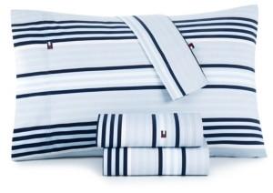 Tommy Hilfiger Ocean Stripe Full Sheet Set Bedding