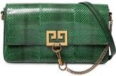Givenchy Charm Snakeskin Shoulder Bag